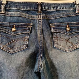 INC curvy fit boot leg jeans size 10